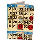 Bingo Card Travel Passport Holder