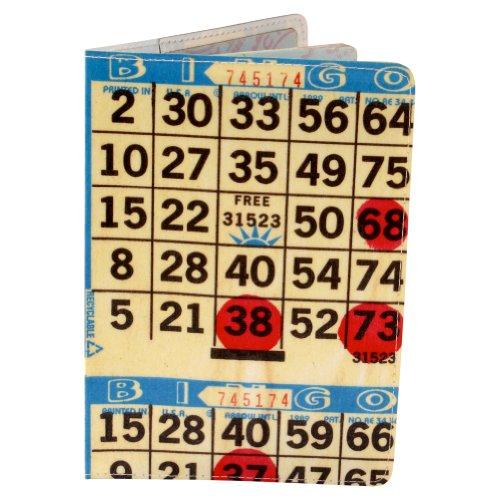 Bingo Card Travel Passport Holder by 11:11