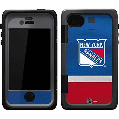 Skinit New York Rangers Jersey OtterBox Armor iPhone 4&4s Skin for CASE - Officially Licensed NHL Skin for Popular Cases Decal - Ultra Thin, Lightweight Vinyl Decal Protection (New York Rangers Iphone 4 Case)
