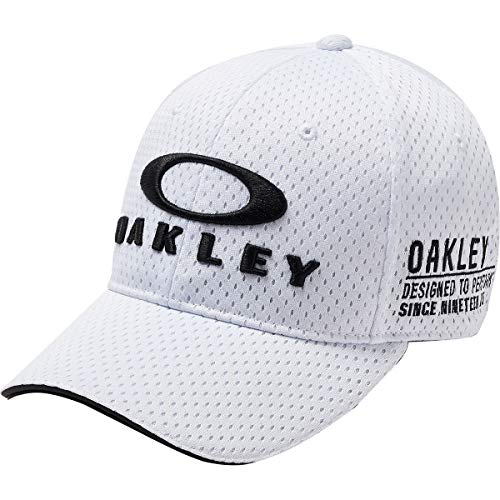 Oakley Men's BG Fixed Flexfit Hats,One Size,White for sale  Delivered anywhere in USA