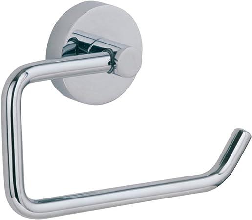 Toilettenpapierhalter ohne Deckel Messing verchromt Badzubehör Papierhalter
