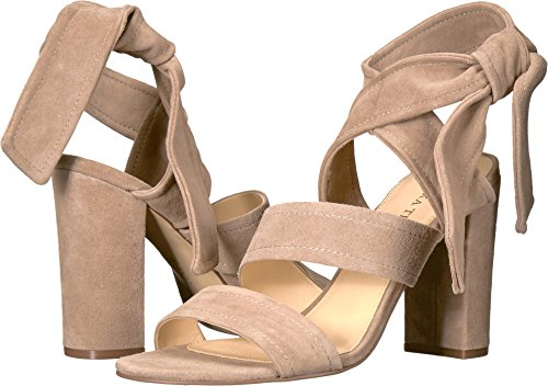 Ivanka Trump Women's Kiffie Light Natural FH Kid Suede Sandal - Kid Suede Womens Sandals