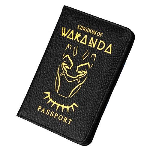 Fashion Men Women Travel Passport Holder Protector Wallet Business Card Soft Passport Cover (F)