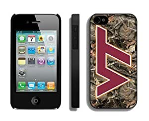 Cheap Case for Apple Iphone 4s Ncaa Virginia Tech Hokies 4 Best Iphone 4 Accessories
