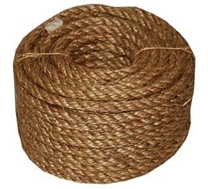 T.W . Evans Cordage 26-003 1/2-Inch X 50-Feet 5-Star Manila Rope