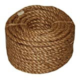 T.W . Evans Cordage 26-011 1/4-Inch by 100-Feet 5 Star Manila Rope