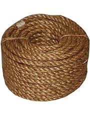 T.W Evans Cordage 26-011 1/4-Inch by 100-Feet 5 Star Manila Rope