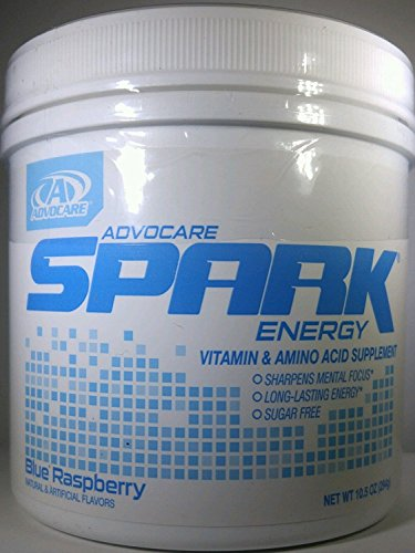 Advocare Spark Blue Raspberry Energy Formula (42 Serving) (Sparks Energy Drink Advocare)