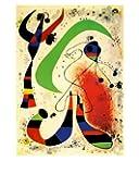 Reproduction d'art 'Nuit', de Joan Miró, Taille: 41 x 51 cm