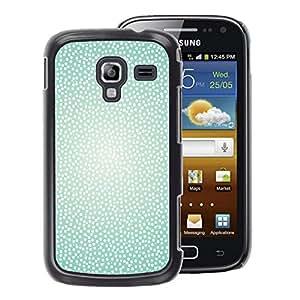 A-type Arte & diseño plástico duro Fundas Cover Cubre Hard Case Cover para Samsung Galaxy Ace 2 (Sparkle White Glitter Spots Dots Pattern)