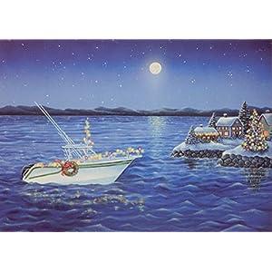 51nj4XgItAL._SS300_ Beach Christmas Cards and Nautical Christmas Cards