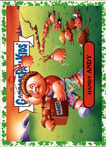 2018 Garbage Pail Kids We Hate the '80s History Puke #6b Handy Andy