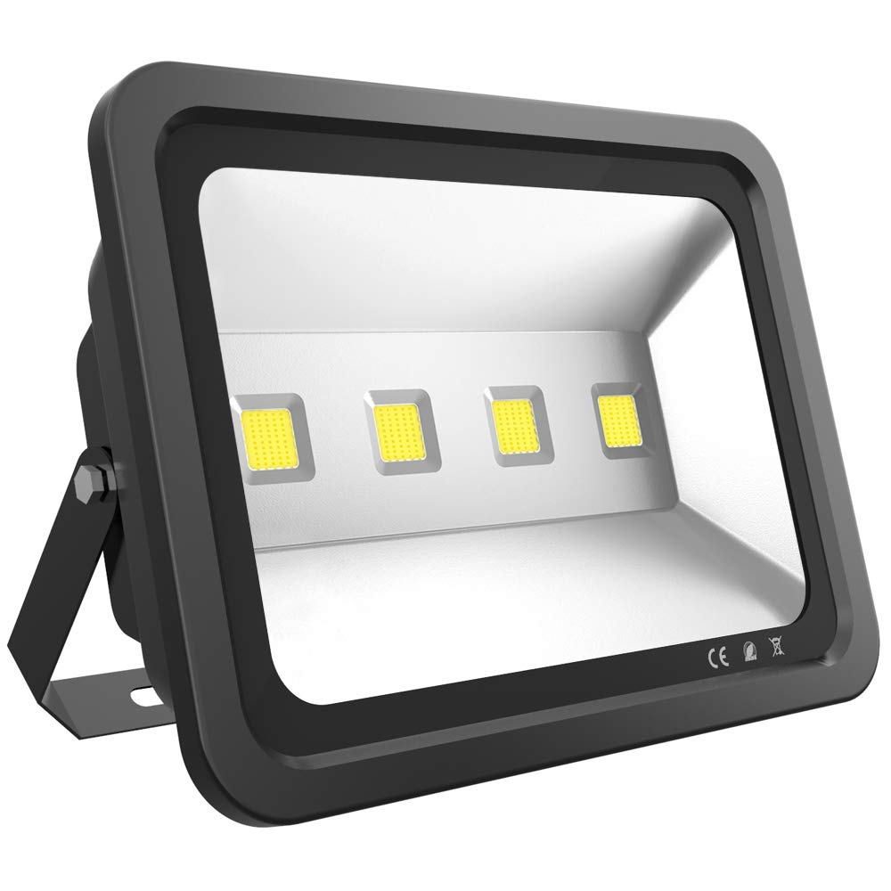 Dimgogo LED Flood Light 200W, Outdoor Waterproof IP65 20000lm Super Bright Flood Lamp Cool White 6000K Spotlight Lamp Daylight for Garden Yard, Party, Playground, Stadium and Square