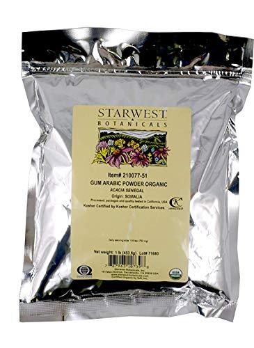 Organic Gum Arabic Powder