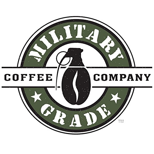 Military Grade Ground Coffee, The Strongest Coffee On The Planet, USDA Organic - 16 Oz. Bag (1 BAG)