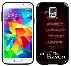 Edgar Allen Poe The Raven Handmade Samsung Galaxy S5 Black Case