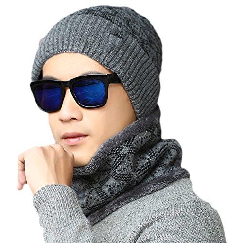 fcaabe3288a23 snfgoij Gorros para Hombres Gorras De Esquí Parabrisas Sombreros De Lana De  Invierno Ushanka Sombrero De Caza Ruso Sombrero Caliente Protección para  Los ...