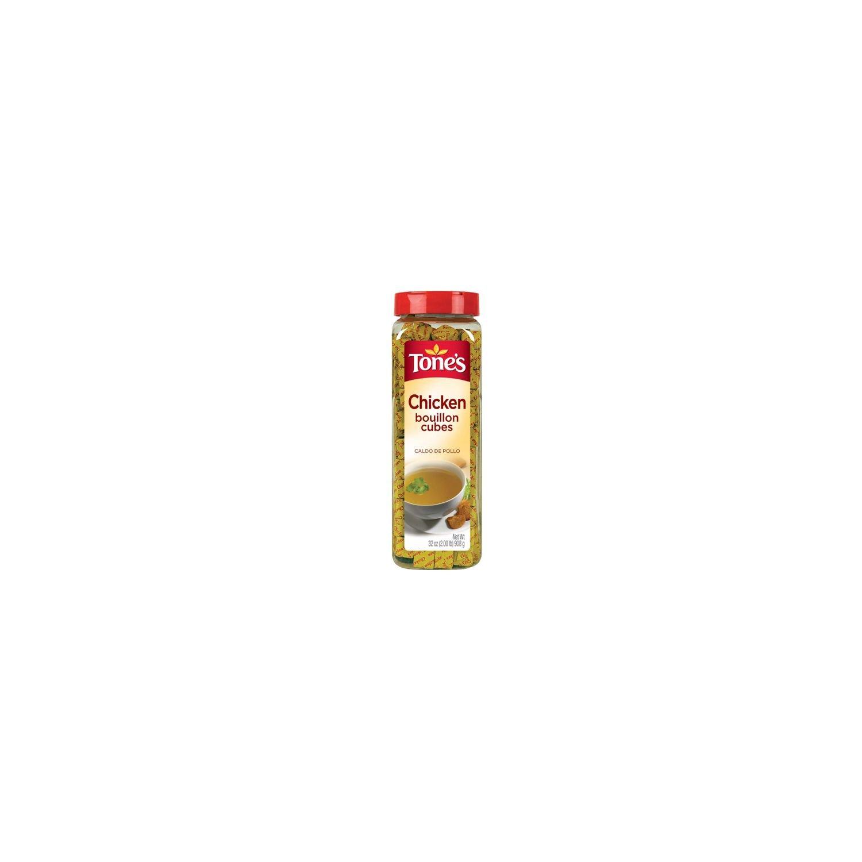 Amazon.com : Tones Chicken Bouillon Cubes (2/32 Oz. Bottles) Total 64 Oz : Grocery & Gourmet Food