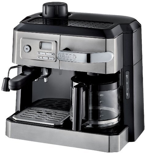 Buy Cheap DeLonghi BC0330T Combination Drip Coffee and Espresso Machine (Certified Refurbished)