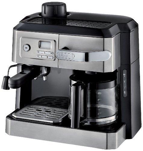 DeLonghi BCO330T Combination Drip Coffee and Espresso Machine, 24