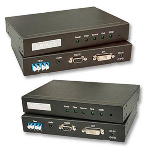 Image of 38065 Fiber Optic DVI-D Dual Link Extender, 500m Fiber Optic Cables