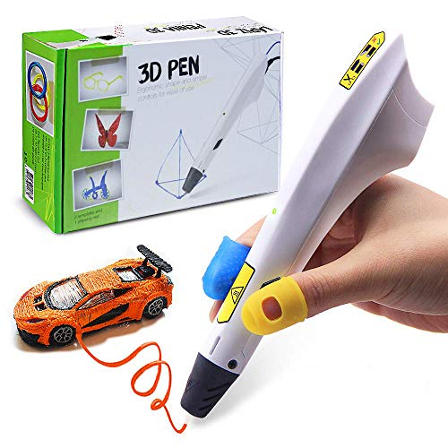REES52 3D Pen, Art and Craft DIY Drawing 3D Printing Pen and PLA Filament Refills Set for Kids