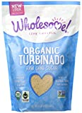 Wholesome Sweeteners Organic Turbinado Raw Cane Sugar, 24 oz