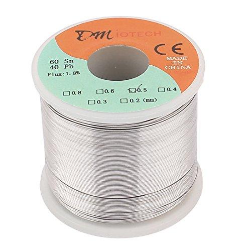0.5mm 60/40 Tin lead Rosin Core Solder Wire Reel - 2