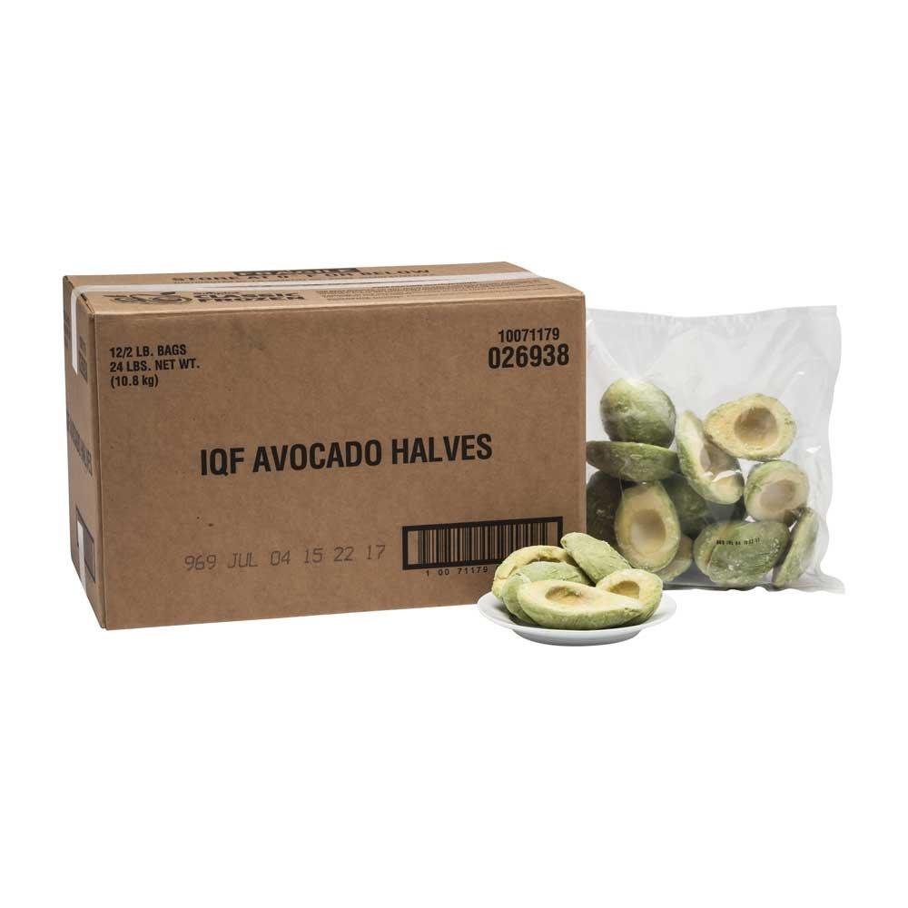 Simplot Harvest Fresh Avocados - Avocado Halves, 2 Pound -- 12 per case.