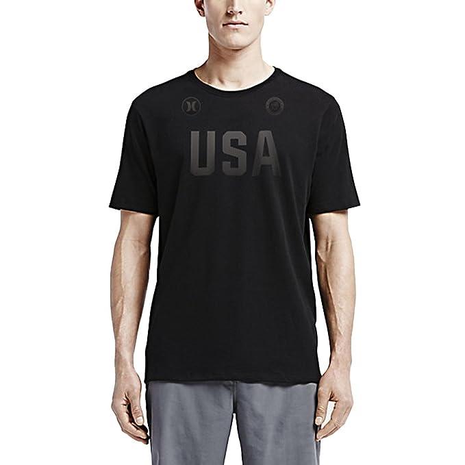 Amazon.com: Hurley Dri-Fit Premium USA Olympic Team Tee Athletic T-Shirt -  Mens: Clothing