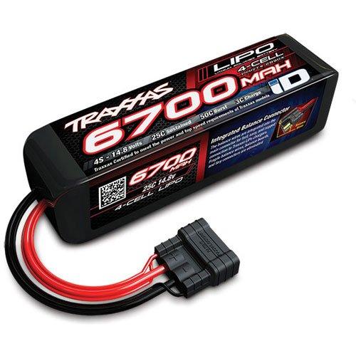 Traxxas 2890X Power Cell LiPo 14.8V 6700mAh Battery