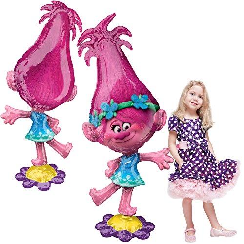 Anagram 58'' Trolls Poppy Air Walker Balloon by Anagram