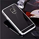 Case Galaxy S7 Transparent Backcover, Misteem Luxury Glitter Mirror Crystal Clear View Bling Soft Ultra Slim Thin Cover Gold Protective Rear Shell for Samsung Galaxy S7 in TPU Silicone Colorful Flexible Shockproof Protection