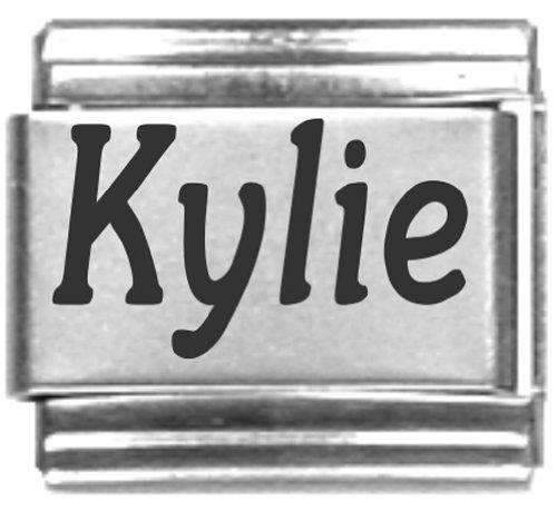 Kylie Laser Name Italian Charm Link