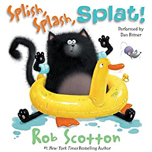 Splat the Cat: Splish, Splash, Splat! Audiobook