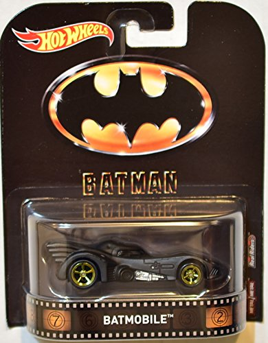 2017 Hot Wheels Retro Entertainment Real Riders Batman - Entertainment Mobile