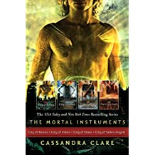 Cassandra Clare: The Mortal Instrument Series (4 books): City of Bones; City of Ashes; City of Glass; City of Fallen Angels (The Mortal Instruments)