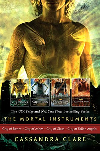 (Cassandra Clare: The Mortal Instrument Series (4 books): City of Bones; City of Ashes; City of Glass; City of Fallen Angels (The Mortal Instruments))