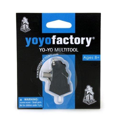 YoYoFactory Black Multi Tool w/ Bearing Remover/Hex Key/String - Mutitool