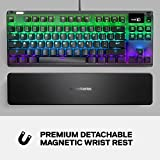 SteelSeries Apex Pro TKL Mechanical Gaming Keyboard – World's Fastest Mechanical Switches – OLED Smart Display – Compact Form Factor – RGB Backlit