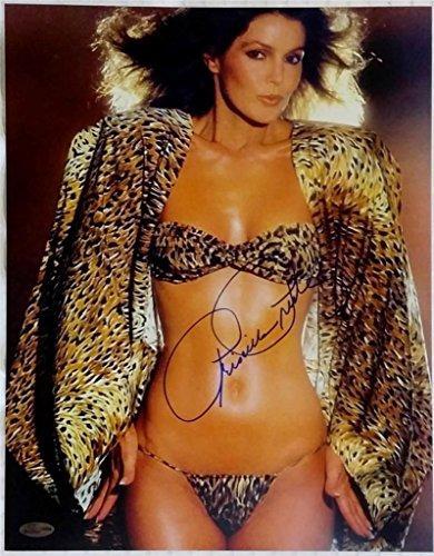 PRISCILLA PRESLEY SIGNED 11x14 PHOTO AUTO AUTOGRAPH OC DUGOUT COA ELVIS (B) (Elvis Autograph)