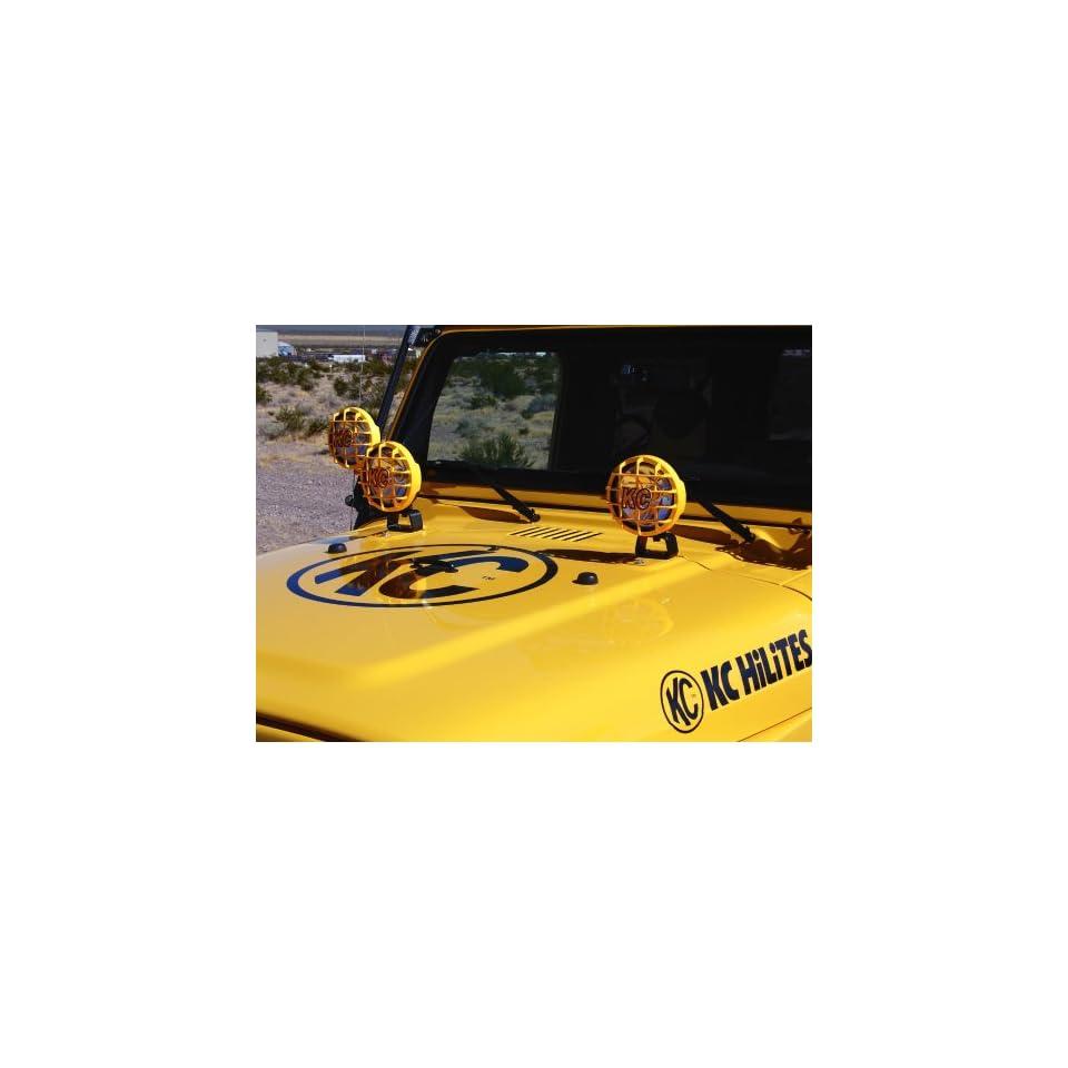KC HiLites #7304 Bracket   Jeep Hood Light Mount Pair of 2