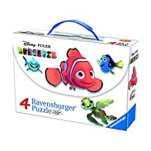 Ravensburger Disney Finding Nemo The Friends Puzzles in A Suitcase Box (2 X 64 and 2 X 81 Piece)