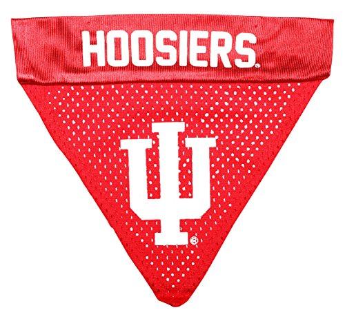 Pet Goods NCAA Indiana Hoosiers Collar Bandana, One Size