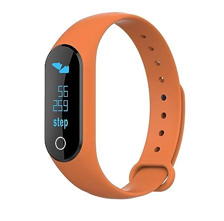 MEISHENG Smart Band precisión del Ritmo cardíaco Monitor de ...