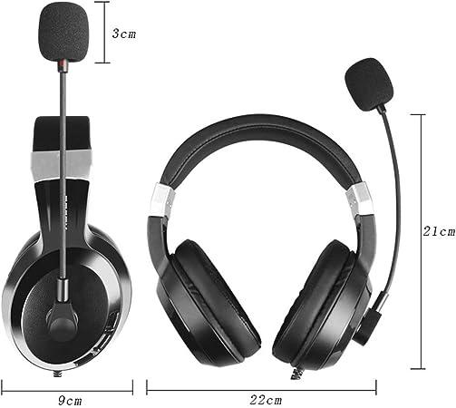 YYZLG Écouteurs, Ordinateur de Bureau Microphone à Un Point