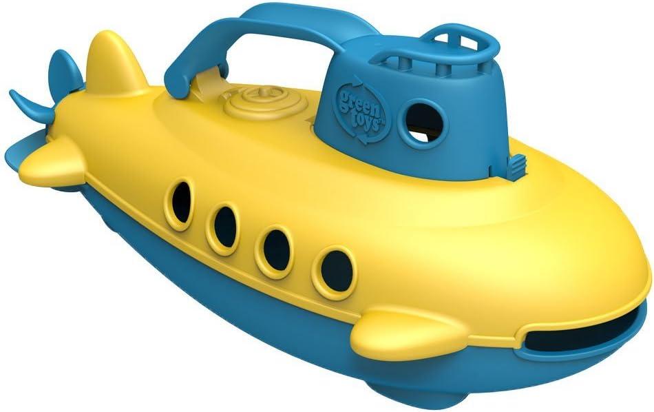 Green Toys- Submarino (Manija Azul), Multicolor, USA Size (SUBB-1032)