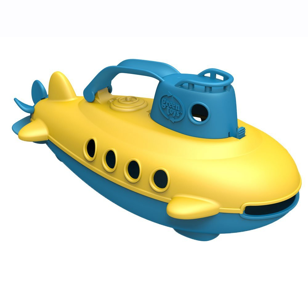 Green Toys Submarine (Blue Handle) - Bath and Water Toys Green Toys Inc SUBB-1032