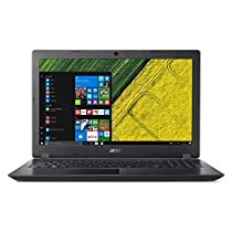 """Acer Aspire A315-21-20BH Notebook, Display 15.6"""" HD Comfyview, Processore AMD Dual-Core E2-9000, RAM 4 GB Ddr4, 500 GB HDD, Nero [Layout Italiano]"""