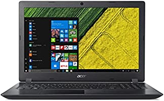 "Acer Aspire A3 A315-51-30LC Notebook, Display 15.6"" HD, Processore Intel Core i3-7100U, RAM 4 GB DDR4, 1000 GB HDD, Nero"
